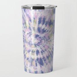 Indigo Tie-Dye Travel Mug