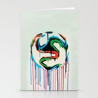 world cup Stationery Cards featuring Bleed World Cup by DesignYourLife