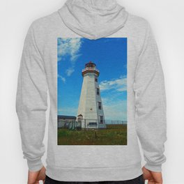 North Cape Lighthouse window wall Hoody