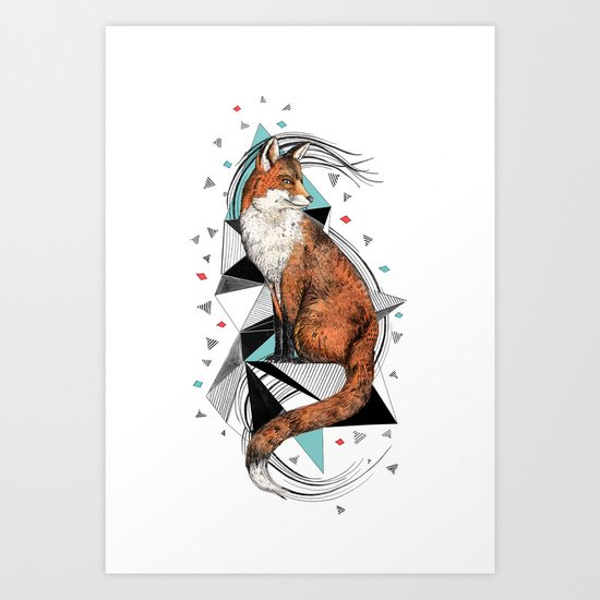 Foa the Fox Art Print