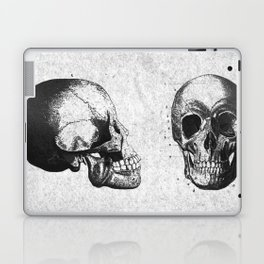 Vintage Medical Engravings of a Human Skull Laptop & iPad Skin