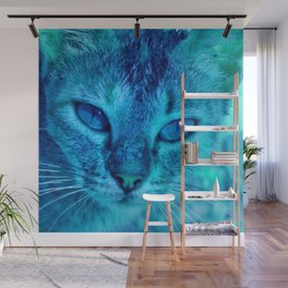 cats eyes: ischia Wall Mural