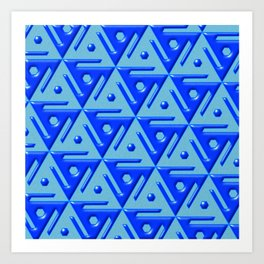 Geometrix 140 Art Print