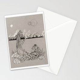 Egyptian Goddess Past Life Stationery Cards
