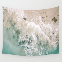 Frothy Fourth Beach Wall Tapestry