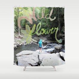 Wildflower Creek Shower Curtain