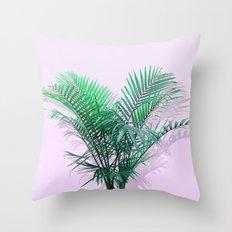Palms on Musk Throw Pillow