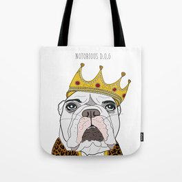 Celebrity Dogs-Notorious D.O.G. Tote Bag