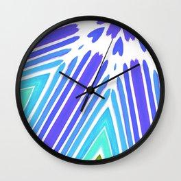 Pattern Lines Wall Clock
