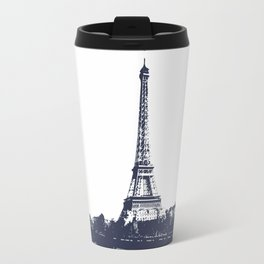 Paris Eiffel Tower cityview monochromatic Travel Mug