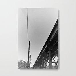 Milwaukee & Leavitt Metal Print