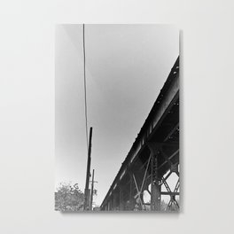 Milwaukee & Leavitt Metal Print