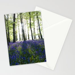 Bluebell Woods at Sunrise Stationery Cards