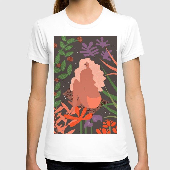 Girl in Botanic Garden T-shirt