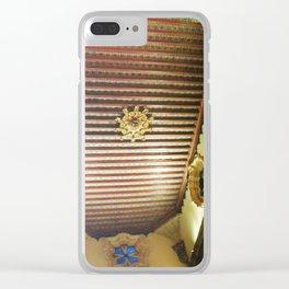 Ceiling Art Details, Mexican Tile, CDMX 35mm Film Clear iPhone Case