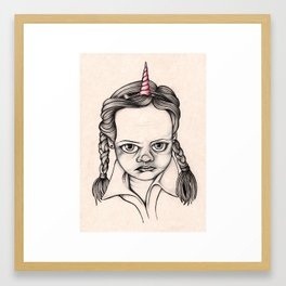 Jenna is Sick of Your Sh*t Framed Art Print