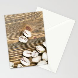 roasted pistachios Stationery Cards