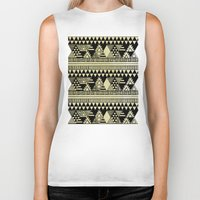 chic Biker Tanks featuring Ethnic Chic by Louise Machado