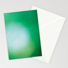 Green Surprise Stationery Cards