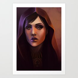 Witch of the Wilds Art Print