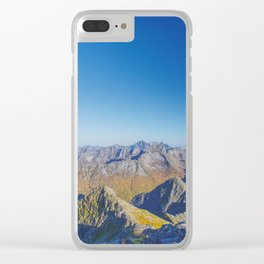 At the summit Clear iPhone Case