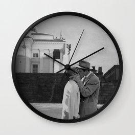 Collage Á bout de souffle (Breathless) - Jean-Luc Godard Wall Clock