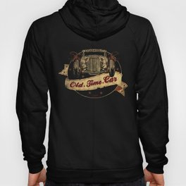 Old Time Car Hot Rod Hoody