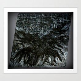 The Hounds of Tindalos Art Print