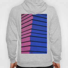 Pink and blue Hoody