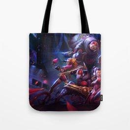 SKT T1 Vayne Jax Zyra Zed Lee Sin Splash Art Wallpaper Official Artwork League of Legends lol Tote Bag