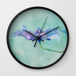 watercolor II Wall Clock
