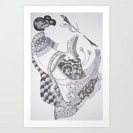 Dancer Series - Gable Art Print