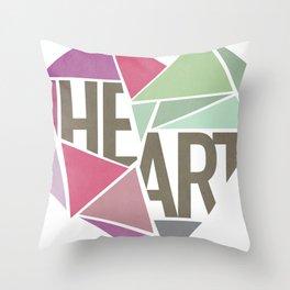 BROKEN HEART  Throw Pillow