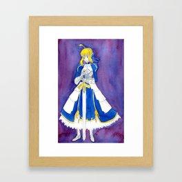 Saber Framed Art Print