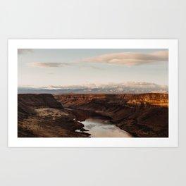 Snake River, Idaho - Scenic Desert Canyon Art Print