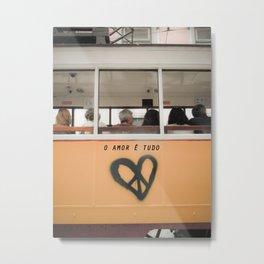 O Amor Metal Print