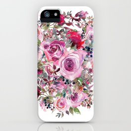 Bouquet of flower - wreath iPhone Case