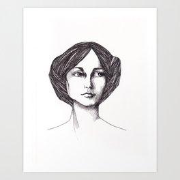 In Waiting Art Print