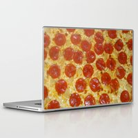 pizza Laptop & iPad Skins featuring Pizza by Katieb1013