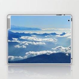 Mountains and Clouds in Nepal Laptop & iPad Skin