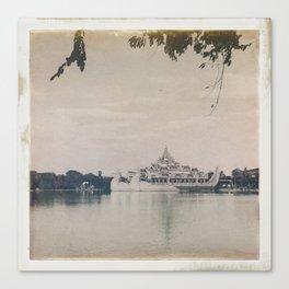 Burmese Memories #1 Canvas Print