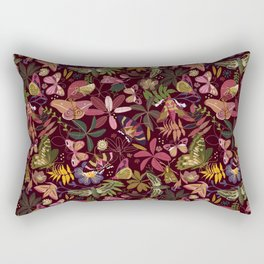 Spirit guiding moths Rectangular Pillow