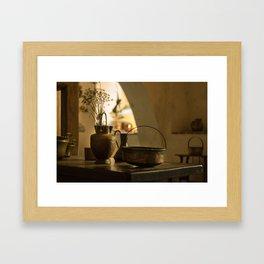 Vintage Kitchen Framed Art Print