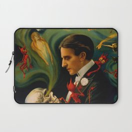 Thurston The Great Magician - Spirits Laptop Sleeve