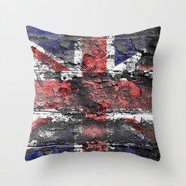 Union Jack (United Kingdom Flag) Throw Pillow