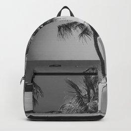 Surfing summer half 1 Backpack