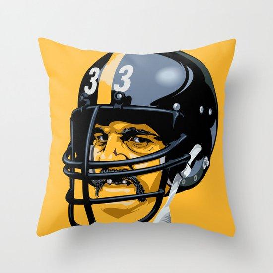 Black Jack Throw Pillow