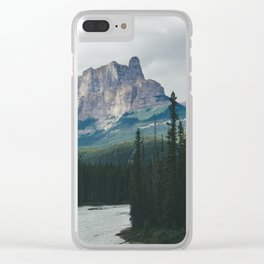 Above the Tree Line Clear iPhone Case