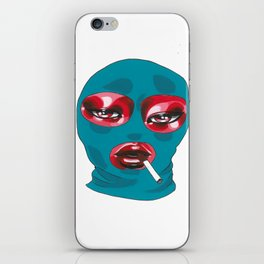 Gang Girl iPhone Skin