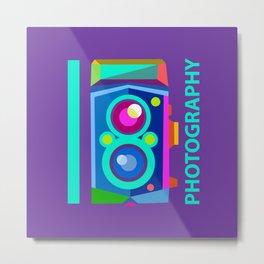 I heart Photography Metal Print